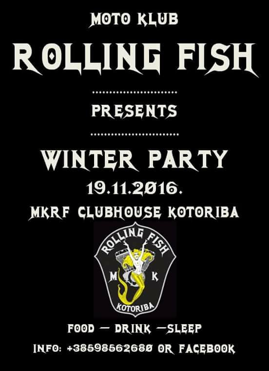 rolling fish winterparty2016