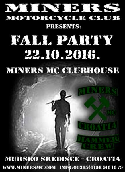 miners fallparty2016